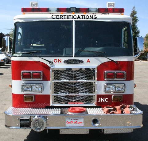 contact us certifications on a 3 inc fire training academy